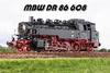 BR 86 608 - DR Ost Epoche 3